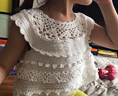 Платье крючком #tk_карамель